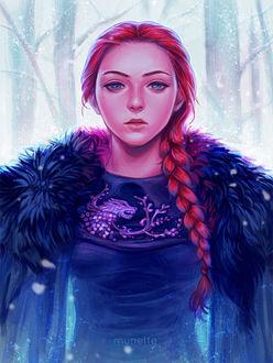 ���� ����� ����� / Sansa Stark �� ������� ���� ��������� / Game of Trones, by munette