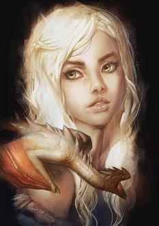 ���� Daenerys Targaryen / ��������� ��������� �� ������� ���� ��������� / Game of Thrones, by lehuss