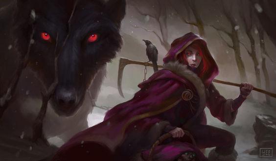 Фото Red Riding Hood / Красная Шапочка, by Artofryanyee