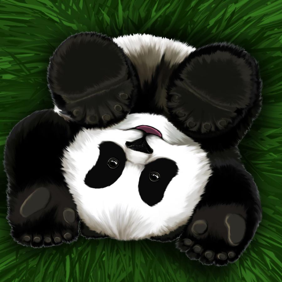 Картинка панды для авы