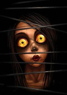 Фото Девушка зомби из игры Город Мертвых, художник Максим Патронов (markonos)