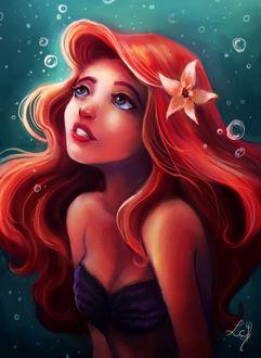 Фото Принцесса Ариель / Ariel из мультфильма Русалочка / The Little Mermaid, by Ludmila-Cera-Foce