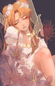 Фото Princess Serenity / Принцесса Серенити / Usagi Tsukino / Усаги Цукино из аниме Сейлор Мун / Sailor Moon, by fuwaffy