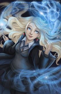 Фото Luna Lovegood / Полумна Лавгуд из фильма Harry Potter / Гарри Поттер, by SaintPrecious