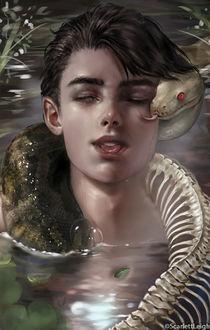 Фото Парень со зиеей в воде, by ScarlettLeigh