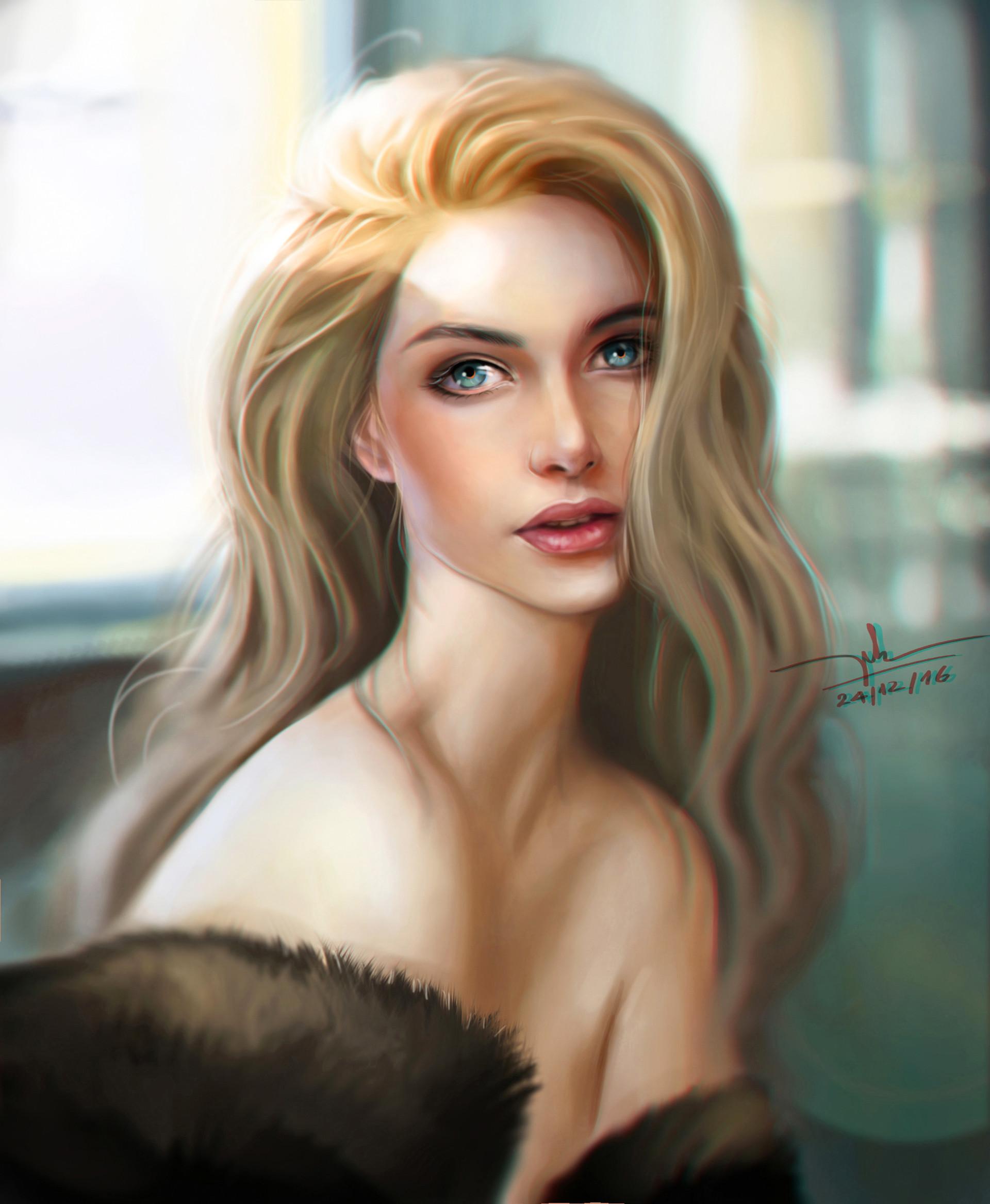 Красивый эротический портрет девушки — 1