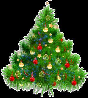 Фото Наряженная новогодняя елка