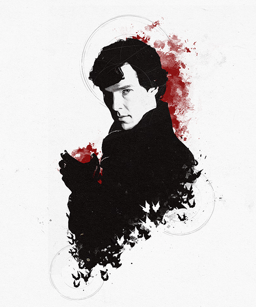 Sherlock рисунки