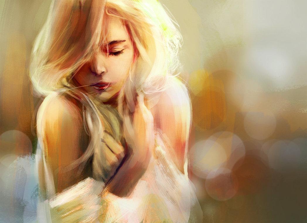 Если девушка видит во сне блондинку, то ей стоит задуматься: не живет ли она в вымышленном мире и не слишком ли много придается мечтаниям?