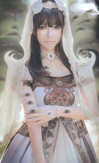 Фото Девочка в образе невесты, by yurisa