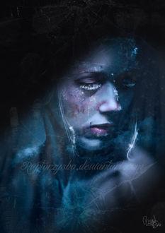 Фото Портрет девушки в инее, by raptorzysko