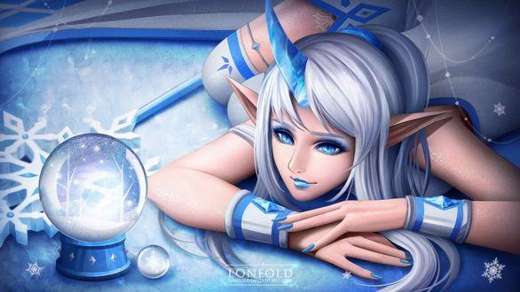 Фото Soraka / Сорака из игры League of Legends / Лига Легенд, by LONEOLD