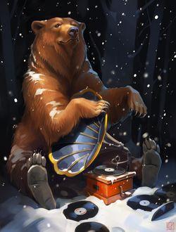 Фото Работа Медведь, который любит джаз, by GaudiBuendia