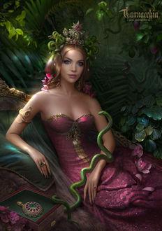 Фото Девушка-королева змей, by cornacchia-art