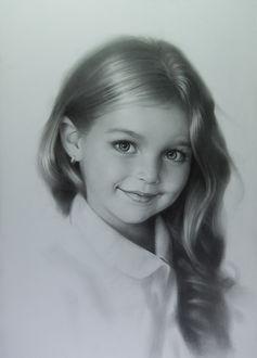 Фото Портрет улыбающийся девочки, by Andrey Belichenko & Mariya Boukhtiyarova Belichenko