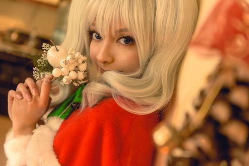 Фото Christmas Kashima / KanColle Cosplay by MaySakaali on DeviantArt