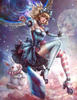 Фото Alice in Crystal Wonderland / Алиса в стране чудес Кристалл, by serafleur