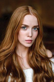 Фото Модель Мария с красивыми глазами, с длинными волосами, фотограф Ivan Warhammer