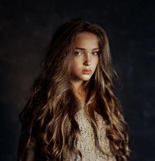 Фото Девушка с длинными волосами, фотограф Kristina Kazarina