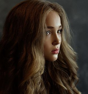 Фото Портрет девушки с длинными волосами, фотограф Kristina Kazarina