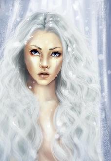 Фото Девушка со слезами на глазах, by Art-by-Rosegold