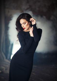 Фото Девушка в черном платье, фотограф Алина Троева