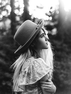 Фото Девушка в шляпе, by Queen-Kitty