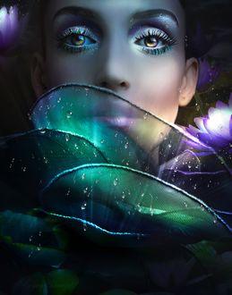 Фото Девушка в образе сказочной нимфы, by JosefinaCS