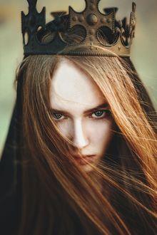 Фото Девушка в короне, by Jaka