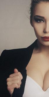 Фото Девушка в пиджаке, фотограф Роман Крамской