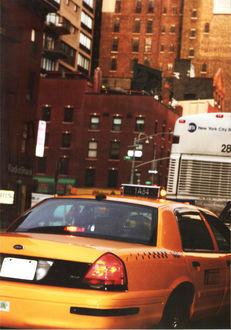 Фото Такси в Нью-Йорке, США / New York, USA