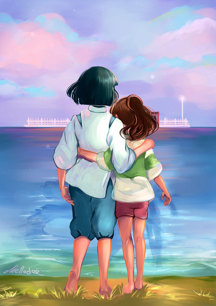 Парень и девушка стоят фото