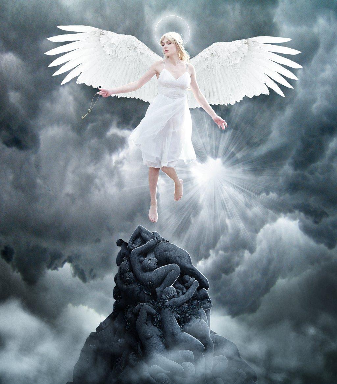 летающие ангелы картинки красиво данной