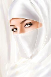 Фото Девушка в хиджабе