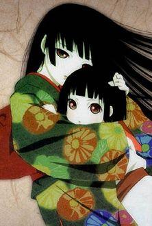 Фото Yumi / Юми и Enma Ai / Энма Ай из аниме Адская девочка / Hell Girl
