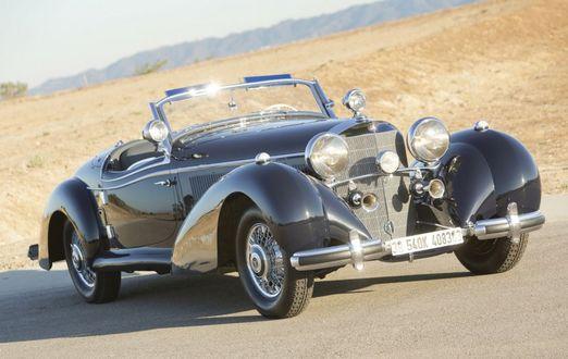 Фото Mercedes-Benz 540K Special Roadster / Мерседес-Бенц 540К специальные Roadster, 1939