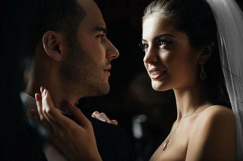 Фото Красивая пара молодоженов, фотограф Игорь Булгака