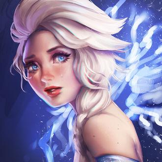 Фото Эльза / Elsa из мультфильма Холодное сердце / Frozen, by equillybrium