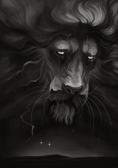 Фото Грустный лев, by tigon