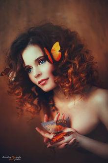 Фото Девушка с бабочками, фотограф Шимолина Александра