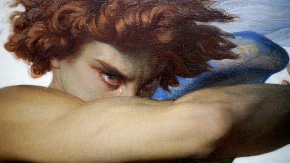Фото Падший ангел / Fallen angels со слезами на глазах, by Alexandre Cabanel 1868 год