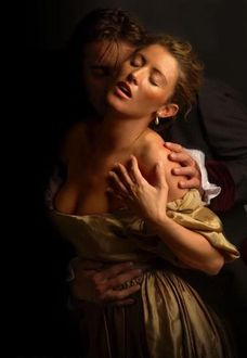Фото Парень обнимает девушку, Art by Jon Paul