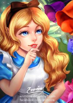 Фото Alice / Алиса из сказки Alice in Wonderland / Алиса в стране чудес, by enmoire