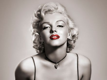 Фото Портрет известной актрисы секс символ Мэрилин Монро / Marilyn Monroe
