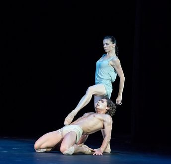 Фото Наталья Осипова и Иван Васильев в балете Соло для двоих