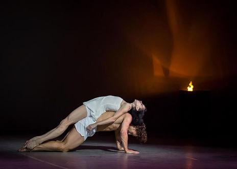 Фото Наталья Осипова и Иван Васильев в танце