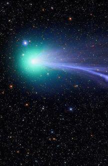 Фото Комета Lovejoy / Лавджой летит в космосе (© Margo Fly), добавлено: 25.02.2017 04:10