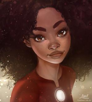 Фото Рири Уильямс / Riri Williams-новая героиня комикса Invincible Iron Man / Железный Человек, by AmandaDuarte
