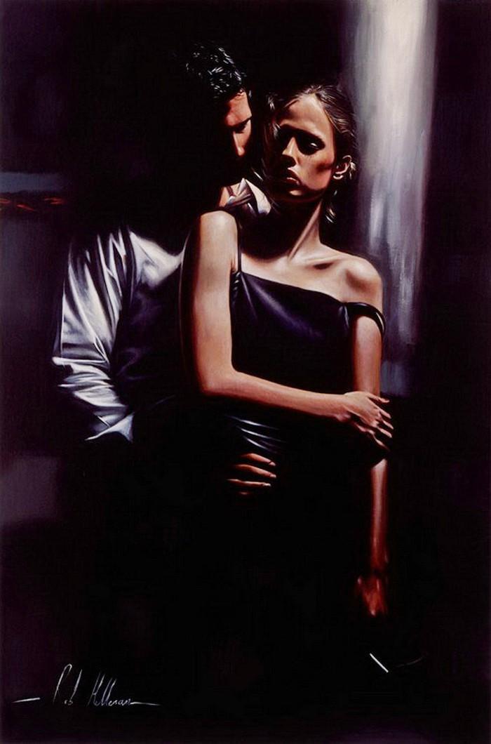Фото Парень обнимает девушку, художник Rob Hefferan