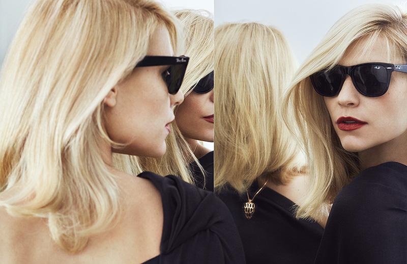 Фото Блондинка Claire Danes / Клэр Дэйнс в солнцезащитных очках, фотограф Txema Yeste
